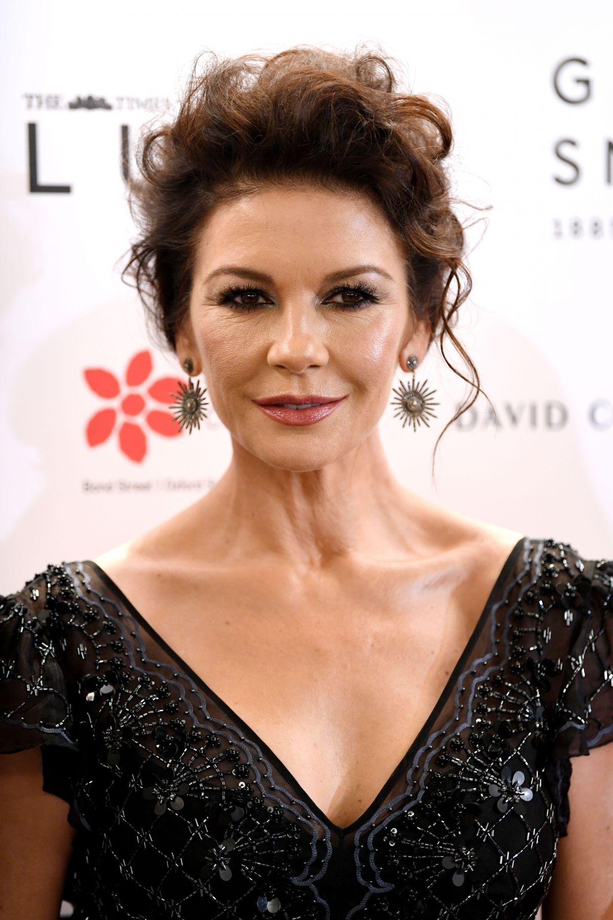 CATHERINE ZETA JONES at Walpole British Luxury Awards in