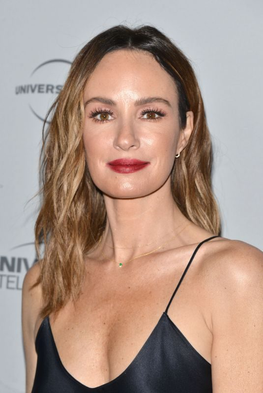 CATT SADLER at NBC/Universal's Press Junket in Los Angeles 11/13/2017