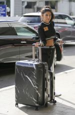 cCHANTEL JEFFRIES at LAX Airport in Los Angeles 11/20/2017