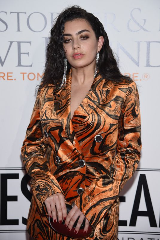CHARLI XCX at Samsung Annual Charity Gala 2017 in New York 11/02/2017
