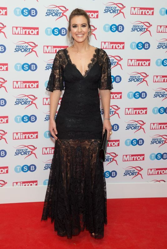 CHARLIE WEBSTER at Pride of Sport Awards in London 11/22/2017