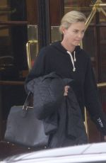 CHARLIZE THERON Leaves Her Hotel in Montreal 11/08/2017
