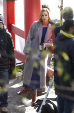 CHARLIZE THERON on the Set of Flarsky in Montreal 11/06/2017