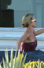 CHARLIZE THERON on Vacation in Los Cabos 11/24/2017