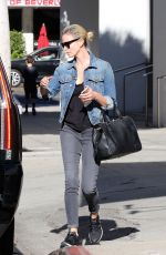 CHARLIZE THERON Out in Beverly Hills 11/22/2017