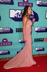 CHARLOTTE CORSBY at 2017 MTV Europe Music Awards in London 11/12/2017