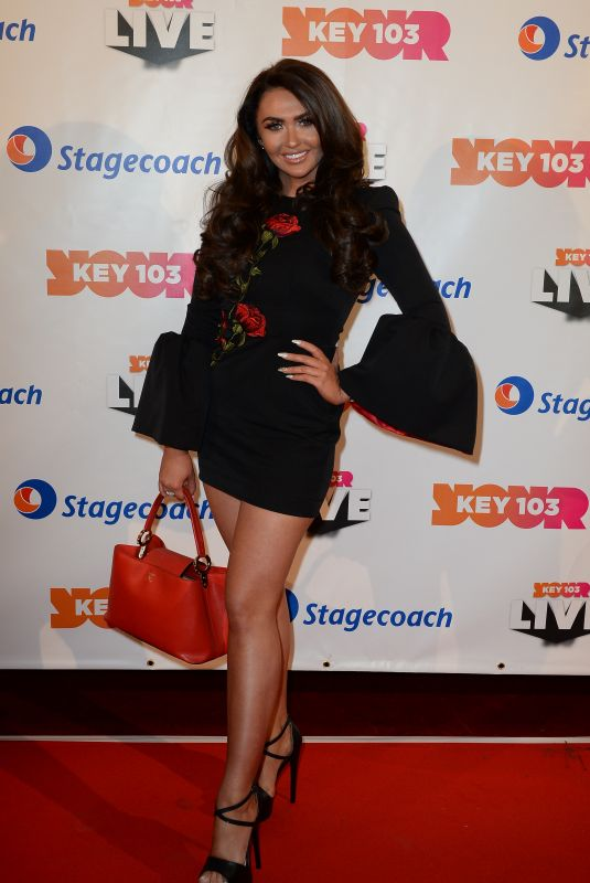 CHARLOTTE DAWSON at Key 103 Live 2017 in Manchester 11/09/2017