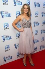 CHARLOTTE HAWKINS at Make Some Noise Night in London 11/23/2017