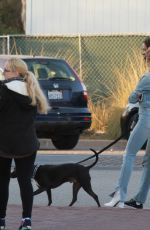 CHARLOTTE MCKINNEY Out and About in Malibu 11/11/2017
