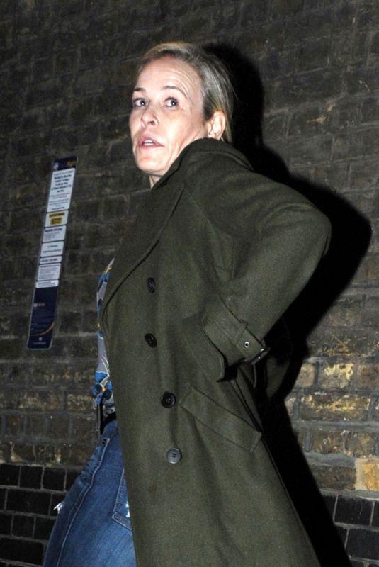 CHELSEA HANDLER Arrives at Chiltern Firehouse in London 11/24/2017