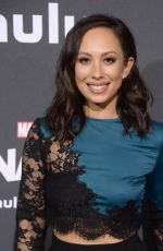 CHERYL BURKE at Runaways Premiere in Los Angeles 11/16/2017