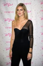 CHIARA FERRAGNI Presents Her New The Blonde Salad - Limited Edition Line for Yamamay in Milan 11/10/2017