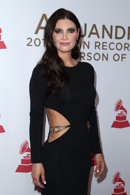 CHIQUINQUIRA DELGADO at 2017 Latin Recording Academy Person of the Year Awards in Las Vegas 11/15/2017
