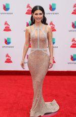 CHIQUINQUIRA DELGADO at Latin Grammy Awards 2017 in Las Vegas 11/16/2017