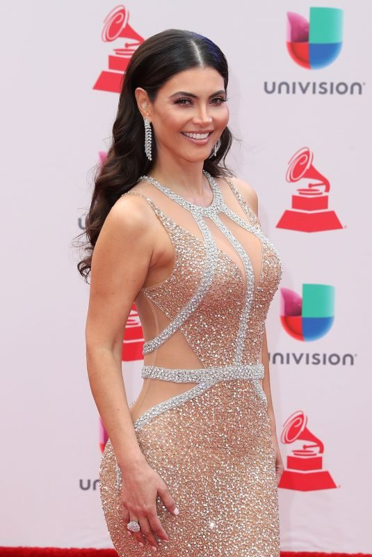 CHIQUINQUIRA DELGADO at Latin Grammy Awards 2017 in Las Vegas 11/16/2017