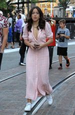 CHLOE BENNET Out at The Grove in Hollywood 11/22/2017