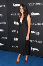 CHLOE BOREHAM and LAURA WHEELWRIGHT at Wolf Creek Premiere in Sydney 11/21/2017