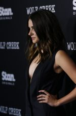 CHLOE BOREHAM and LAURA WHEELWRIGHT at Wolf Creek Premiere in Sydney 11/21/2017