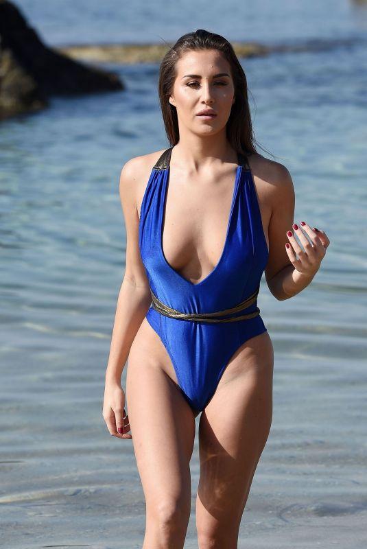 CHLOE GOODMAN in Swimsuit on the Beach in Cape Verde 11/19/2017