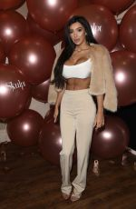 CHLOE KHAN at Skulpt Non Surgical Clinic Party in Liverpool 11/19/2017