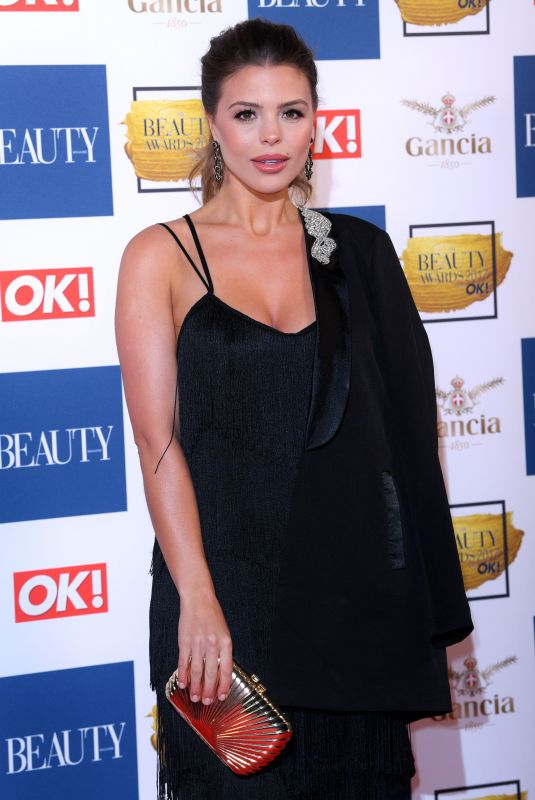 CHLOE LEWIS at OK! Magazine Beauty Awards in London 11/28/2017