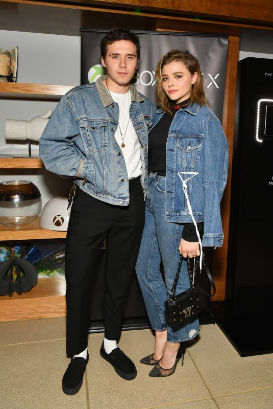 CHLOE MORETZ and Brooklyn Beckham Hosts Xbox One X VIP Event & Xbox Live Session in New York 11/06/2017