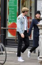 CHLOE MORETZ and Brooklyn Beckham Leaves Tesco Store in Dublin 10/07/2017