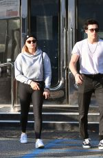 CHLOE MORETZ and Brooklyn Beckham Leaves XIV Karats Jewelry in Beverly Hills 11/26/2017