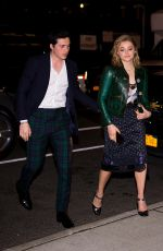 CHLOE MORETZ and Brooklyn Beckham Night Out in New York 11/28/2017