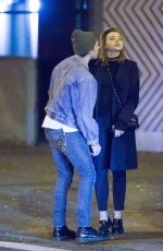 CHLOE MORETZ and Brooklyn Beckham Out for Dinner in New York 11/09/2017
