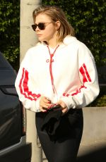 CHLOE MORETZ Out and About in Los Angeles 11/20/2017