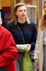 CHLOE MORETZ Out and About in New York 11/08/2017