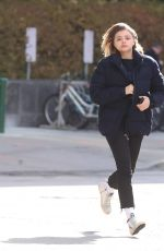 CHLOE MORETZ Out and About in Toronto 11/03/2017