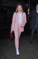 CHLOE MORETZ Out in New York 11/07/2017