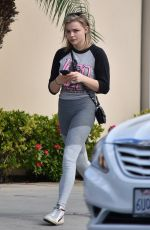 CHLOE MORETZ Out in Studio City 11/17/2017