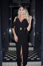 CHLOE SIMS Celebrates Her Birthday at Ldn Grill in London 11/03/2017