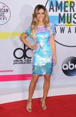 CHRISHELL STAUSE at American Music Awards 2017 at Microsoft Theater in Los Angeles 11/19/2017