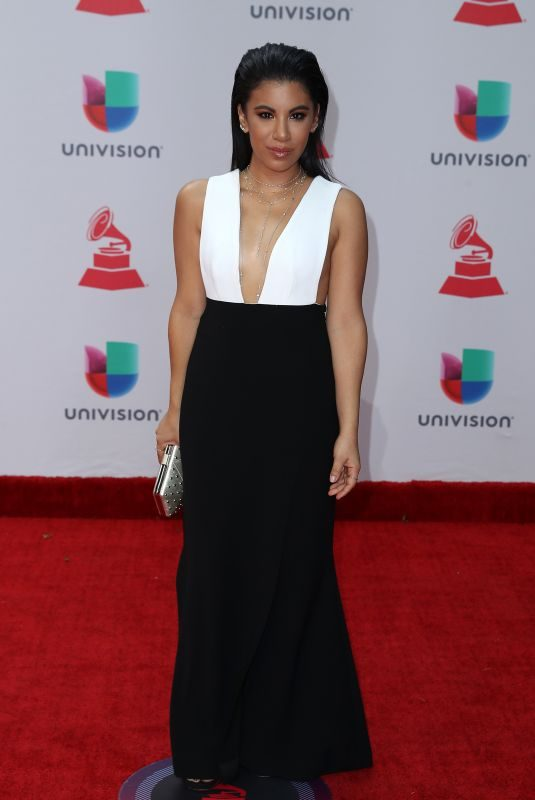 CHRISSIE FIT at Latin Grammy Awards 2017 in Las Vegas 11/16/2017