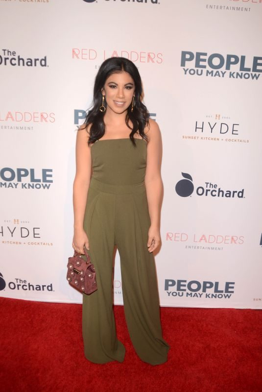 CHRISSIE FIT at People You May Know Premiere in Los Angeles 11/13/2017