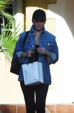 CHRISSY TEIGEN Leaves a Friends House in Los Angeles 11/17/2017