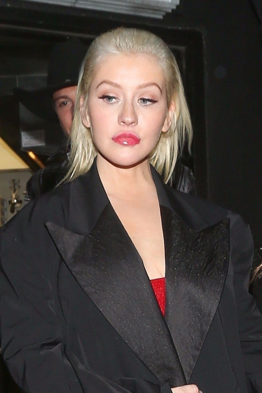 CHRISTINA AGUILERA Night Out in West Hollywood 11/20/2017 ...