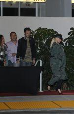 CHRISTINA AQUILERA and Matthew Rutler Leaves Bruno Mars Concert in Los Angeles 11/11/2017