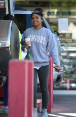 CHRISTINA MILIAN at a Gas Station in Los Angeles 11/07/2017