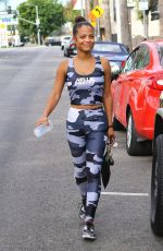CHRISTINA MILIAN Leaves a Gym in Los Angeles 11/15/2017