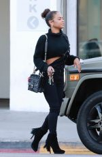 CHRISTINA MILIAN Out in Los Angeles 11/19/2017