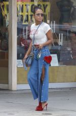 CHRISTINA MILIAN Out in West Hollywood 11/16/2017