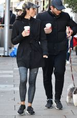 CHRISTINE BLEAKLEY and Frank Lampard Out in London 11/23/2017