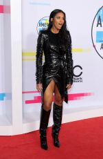 CIARA at American Music Awards 2017 at Microsoft Theater in Los Angeles 11/19/2017