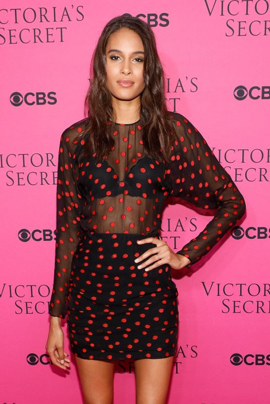 CINDY BRUNA at 2017 Victoria's Secret Fashion Show Viewing Party in New York 11/28/2017