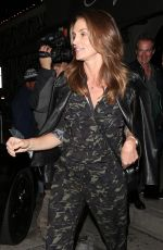 CINDY CRAWFORD Out for Dinner at Craig